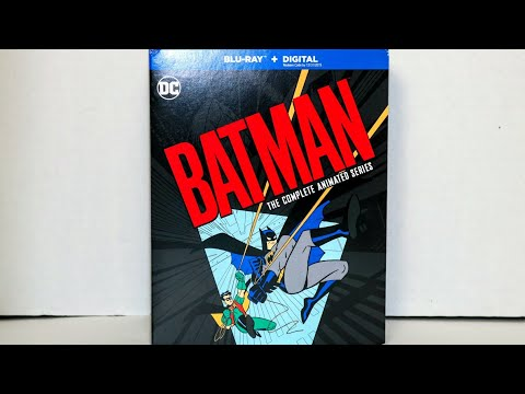 Batman: The Complete Animated Series Unboxing(Non-Limited Edition)