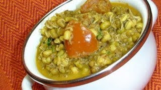Sprouted Mung Curry - Indian Food Recipe