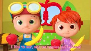 Apples and Bananas Song   ABCkidTV Songs for Children   YouTube