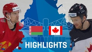 Canada continued its dominance over Belarus, winning for the tenth straight time in World Championship competition without a loss. Thank you for watching, st...