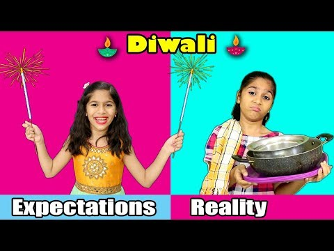 DIWALI : Expectations Vs Reality | Pari's Lifestyle Diwali Video