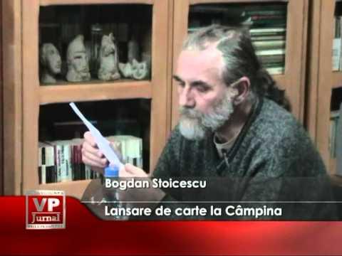 Lansare de carte la Câmpina