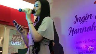 Video Merdu suara Hannah Delisha nyanyi lagu mandarin MP3, 3GP, MP4, WEBM, AVI, FLV Oktober 2017
