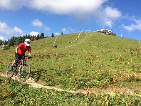 (cz) Bikepark Krvavec Panorama 2018