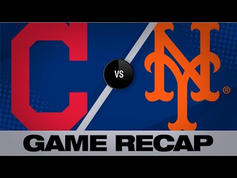 Video: Conforto, Davis lead Mets past Indians, 9-2 | Indians-Mets Game Highlights 8/20/19