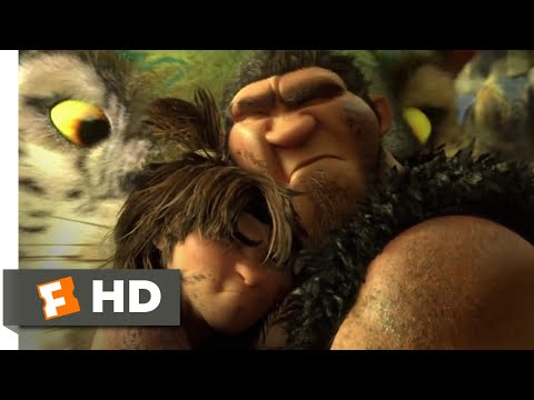 The Croods (2013) - Stuck In Tar Scene (8/10) | Movieclips