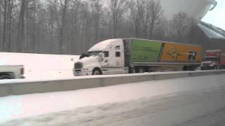 Absolutely HUGE Car Accident On Canadian Highway, Literally 100's Of Cars