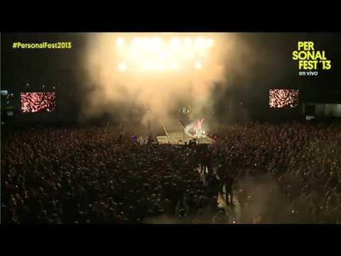 Muse - Personal Fest 2013, Argentina (видео)