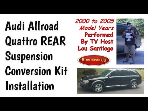 1999-2006 Audi Allroad Quattro Rear Strut Conversion Installation