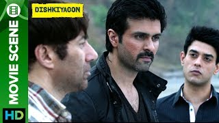 Click here to watch the full movie - http://bit.ly/DishkiyaoonFullMovieCheck out scene from the movie 'Dishkiyaoon' a film directed by Sanamjit Singh Talwar featuring Harman Baweja, Sunny Deol & Ayesha Khanna. The film is produced by Sunil Lulla & Shilpa Shetty Kundra. Music is composed by Sneha Khanwalkar, Palash Muchhal, Prashant Narayanan and White Noise Production.For Mobile Downloads Click: http://m.erosnow.comTo watch more log on to http://www.erosnow.comFor all the updates on our movies and more:https://twitter.com/#!/ErosNowhttps://www.facebook.com/ErosNowhttps://www.facebook.com/erosmusicindiahttps://plus.google.com/+erosentertainmenthttp://www.dailymotion.com/ErosNowhttps://vine.co/ErosNow http://blog.erosnow.com