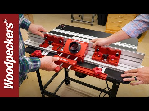 Super Fence Alignment & Accessories For Router Table   Deep Dive