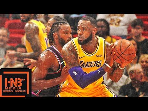 Los Angeles Lakers vs Miami Heat Full Game Highlights | 11.18.2018, NBA Season