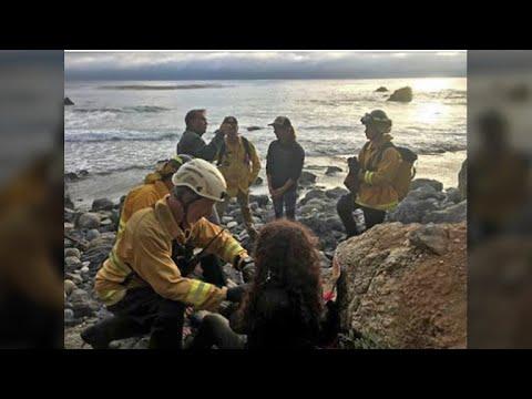 Missing Oregon Woman Found Alive After Car Plunges Down Big Sur Cliff