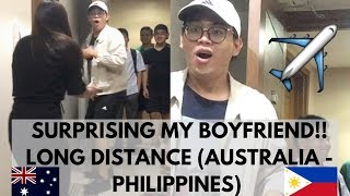 SURPRISING MY BOYFRIEND IN THE PHILIPPINES! LDR (Australia - Philippines) | Rheanna Garcia