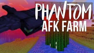 AFK Phantom Farm - Minecraft 1.13
