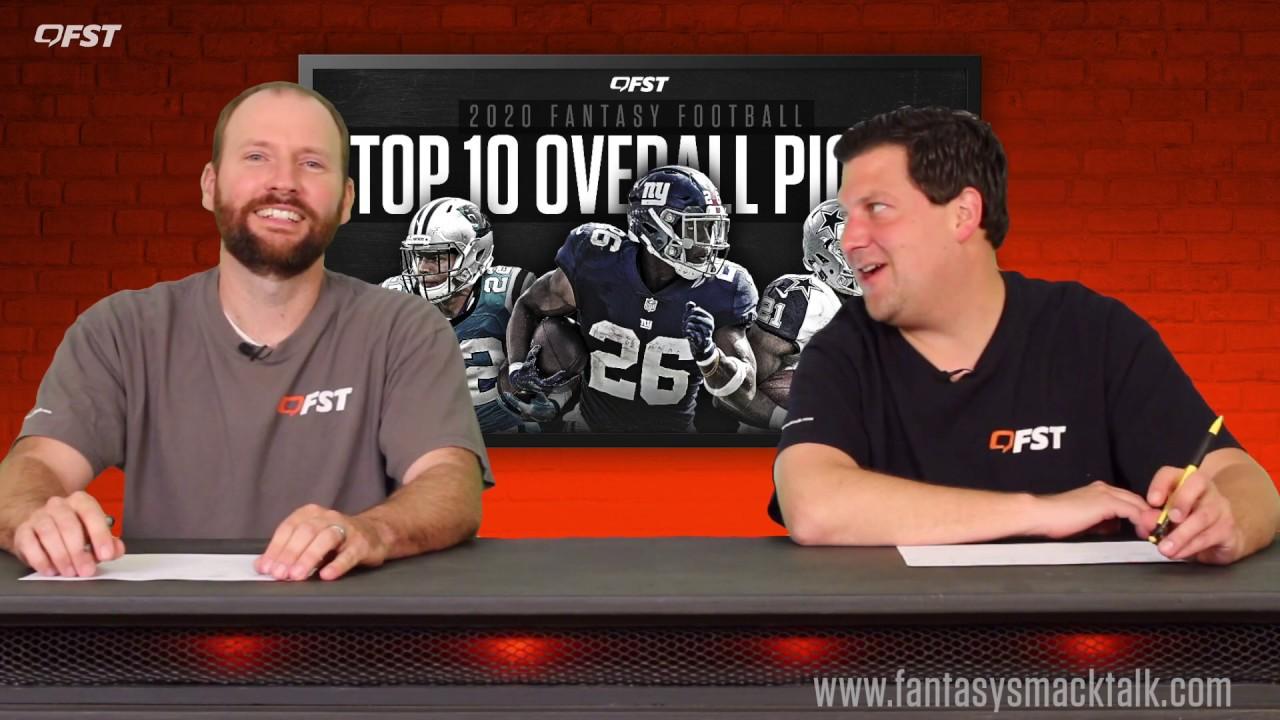 2020 Fantasy Football Projected Top Ten thumbnail