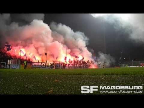 Německo: SV Babelsberg 03 - 1. FC Magdeburg (08.11.2013)