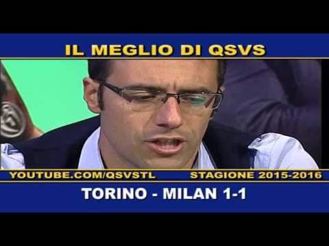 qsvs: i gol di torino - milan 1 a 1