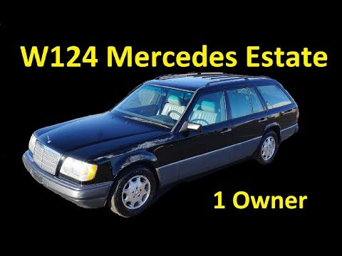 W124 STATION WAGON FOR SALE 1 OWNER INTERIOR VIDEO