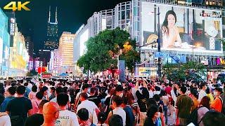 National Day (1st October) night walk in ShangHai