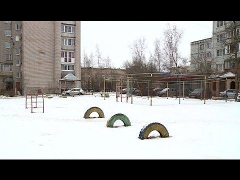 Жители одного из домов на улице Ломоносова озабочены состоянием придомовой территории