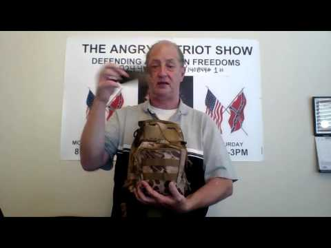 ANGRY PATRIOT REVIEWS THE OXFORD FABRIC TACTICAL BACKPACK CROSS BODY BAG 600D