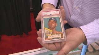 """New Jersey brothers find 5 """"holy grail"""" Mickey Mantle baseball cards"""