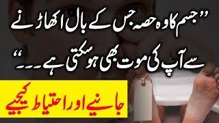 Body Ka Wo Part Jahan Sy Hair Ukharne Sy Mout Ho Jati Hai Urdu Hindi | Urdu Lab