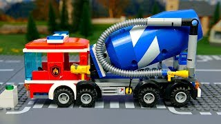 Video Lego Wrong fire truck and experemental cars . Toy Vehicles for Kids MP3, 3GP, MP4, WEBM, AVI, FLV Maret 2019