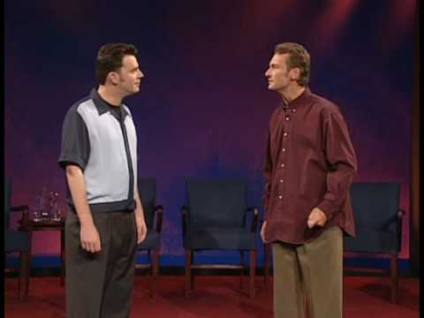 "A priceless ""Questions Only"" segment of Whose Line Is It Anyway"