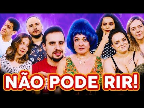 NÃO PODE RIR! com DUBLADORAS(Tânia Gaidarji, Flora Paulita, Angélica Santos e Yasmin Yassine)