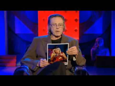 Christopher Walken performing Poker Face