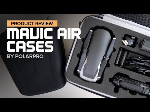 DJI Mavic Air cases by Polar Pro - Rugged and Minimalist