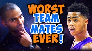 Video 14 HORRIBLE NBA Teammates that CROSSED the Line! MP3, 3GP, MP4, WEBM, AVI, FLV Juni 2019
