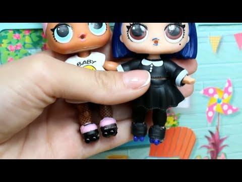 Куклы ЛОЛ Как сделать ролики для кукол. Мультик про куклы LOL SURPRISE. MC Family (видео)