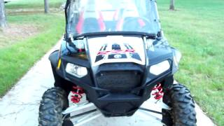 8. 2012 POLARIS RZR 4 800 EPS ROBBY GORDON OFFROAD EDITION