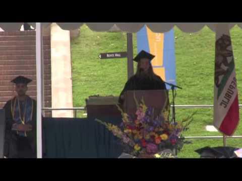 UCLA Ökologie und Evolutionsbiologie Abschlussfeier 2012 - Dr. Sadiqa Stelzner