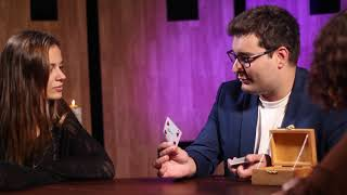 Haunted Box - Signed card trick  (Full performance)