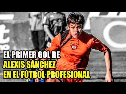 El primer gol de Alexis Sánchez como jugador profesional