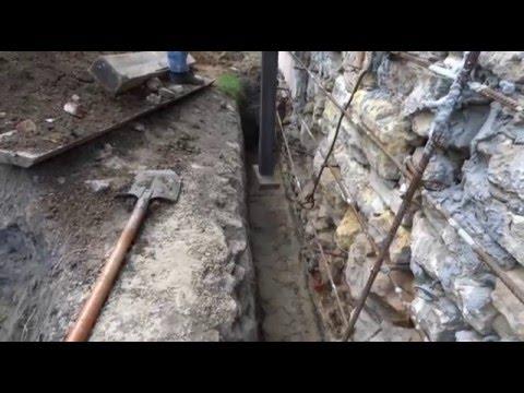 Ремонт бутового фундамента частного дома своими руками 51