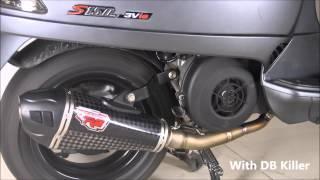 9. R9 Austin Carbon Titanium Series Vespa S150 3V