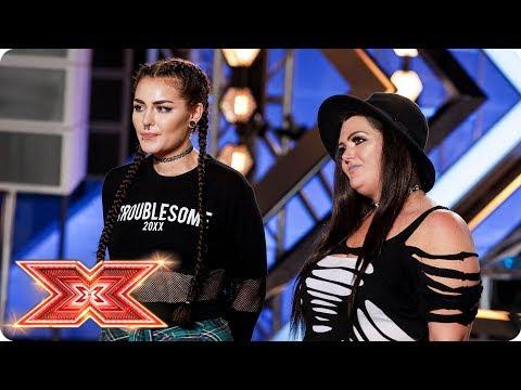 Mother-daughter duo Descendance cover Macklemore | Auditions Week 3 | The X Factor 2017_TV műsorok, celebek és extrém időjárás videók toplistája