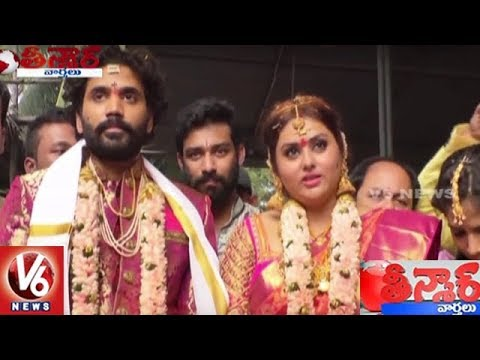 Namitha Ties The Knot With Veerandra In Tirupati | Teenmaar News