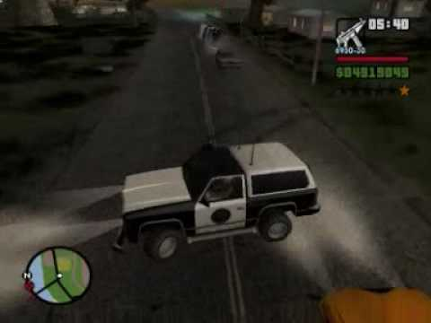 GTA San Andreas cops: Bloopers & funny moments #8
