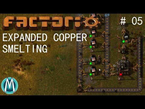 [Factorio] Angels & Bobs Ep 5: Expanded Copper Smelting (Tutorial/Walkthrough)