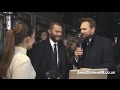 Jamie Dornan - Red Carpet Interview, Hamburg 7.02.17