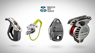 All the Belay Devices Coming in 2017 - Black Diamond, Edelrid, Petzl, Wild Country by WeighMyRack