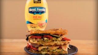 Mediterranean Grilled Cheese Strangewich by Tastemade