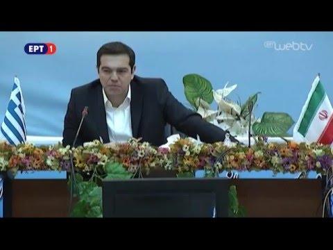 """Δηλώσεις Πρωθυπουργού από το το Τεχνολογικό Πάρκο """"Pardis"""" στην Τεχεράνη,στο Ιράν"""