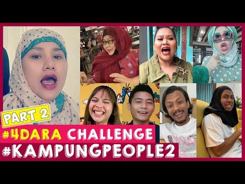 #4Dara Challenge Part 2 | Kampung People 2